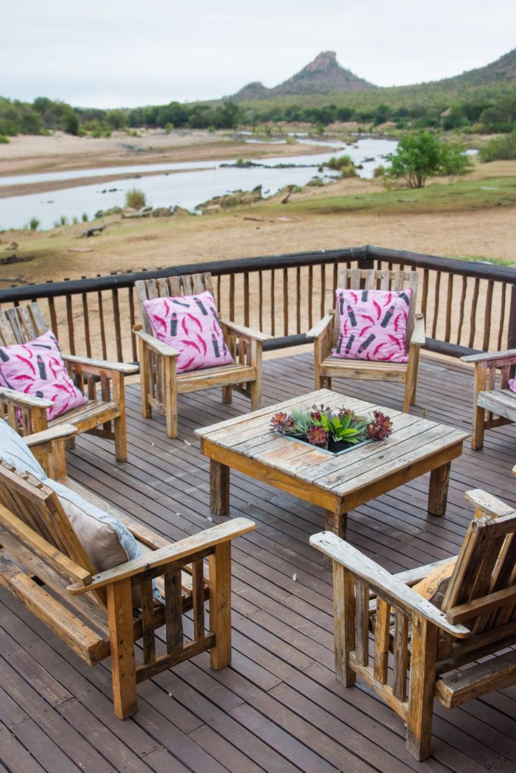 Relax at the deck after your safaris. #SefapaneMagic
