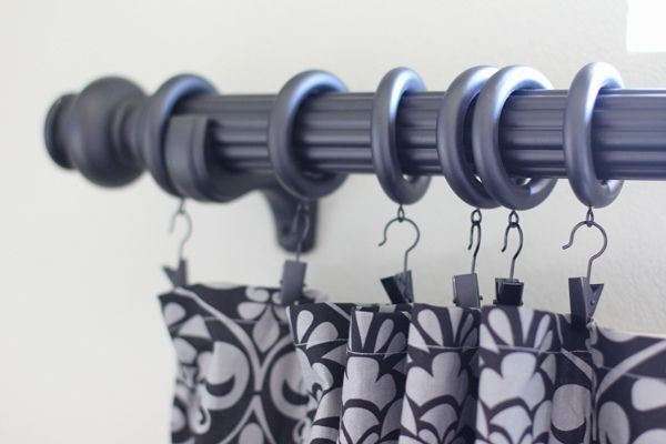 ... on Pinterest | Double curtain rods, Curtain rods and Curtains