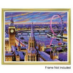 Painting By Numbers - London | Hobbies This Painting by numbers set of London is for the slightly more experienced artist.  Suitable for ages 10+  Follow the instructions carefully and start painting right away !  Picture size - 390mm x 300mm Contents: Pre-printed board, acrylic paints, brush and instruction sheet.