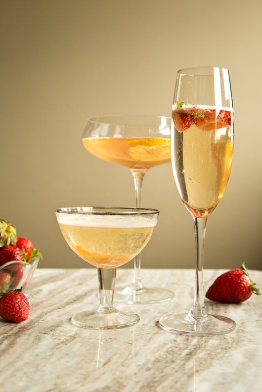 5 easy champagne cocktails