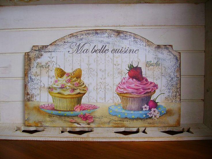 Cuadros de pastelitos