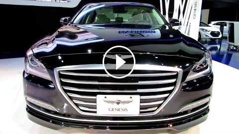 2015 Hyundai Genesis – Exterior and Interior Walkaround – 2014 Toronto Auto Show