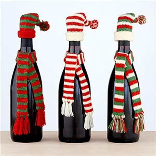 Delmosa.com Highlight: Snowmen Bottles (you'll need your translator for this one)