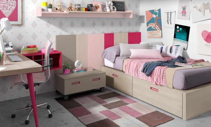 Kibuc muebles y complementos juveniles chroma home ideas for Muebles juveniles kibuc