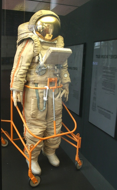 Russian Moon-landing space suit by Spacekids, via Flickr
