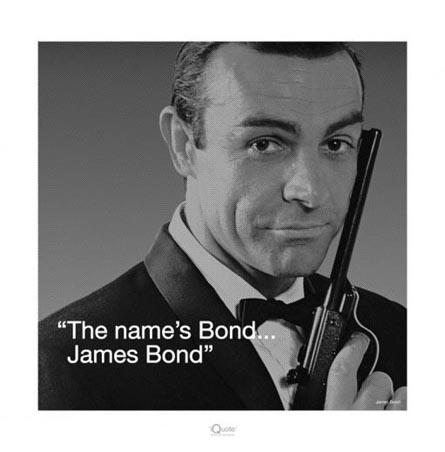 BondJames Of Arci, Jamesbond, Picture-Black Posters, James Bond, Movie, Bond Jam, Bond 007, Sean Connery, The Originals