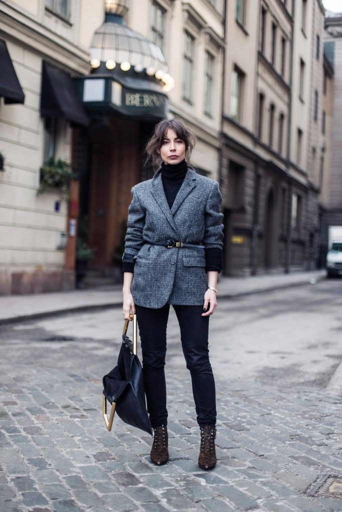 Stockholm Fashion Week Street Style Mode Pinterest Jackor: fashion style and mode facebook
