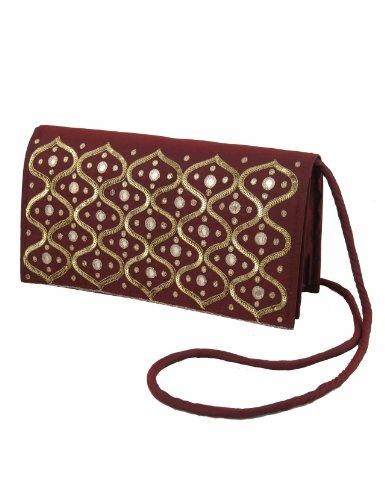 Bolsos hechos a mano por mujeres de seda bordado a mano: Amazon.es: Juguetes y juegos