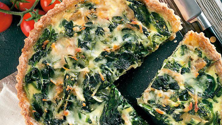 Spinattærten er en suveræn klassiker, som er god på middagsbordet, i madpakken og for sundheden.