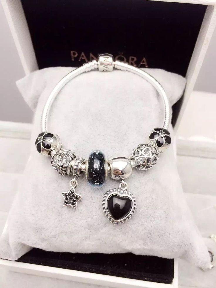 Pandora Bracelet Design Ideas pandora oxidised bracelet cheryl girls aloud b 199 Pandora Charm Bracelet Hot Sale