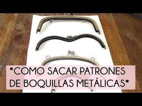 Cómo sacar patrones de boquillas metálicas | Manualidades