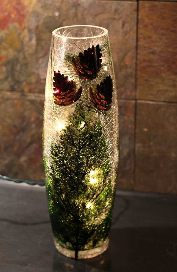 85 Best Images About Crackle Glass On Pinterest