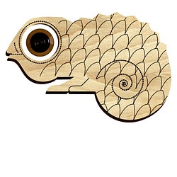 I must have this peephole chameleon thing.