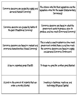 My students absolutely love playing BINGO as a vocabulary review. This activity has 30 different BINGO boards in order for students to review government and economics. Some of the vocabulary words include: Federal, Democracy, Autocracy, Market Economy, Traditional Economy, Income, Human Capital, GDP, Standard of Living, and many more.