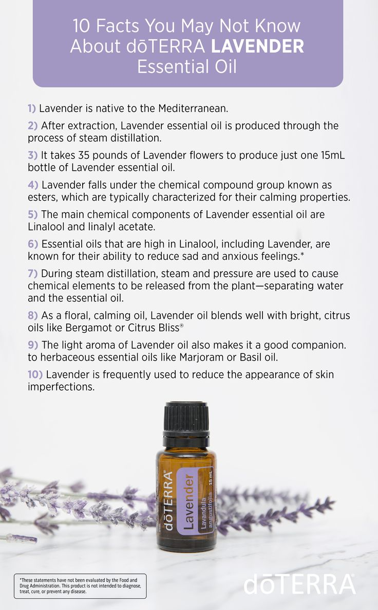 10 Facts You May Not Know About doTERRA Lavender Essential Oil. Lavender is a must-have essential oil to keep on hand at all times due to its versatile uses.