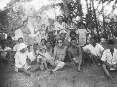 Bali, sbarco a Gilimanuk village, 27 agosto 69