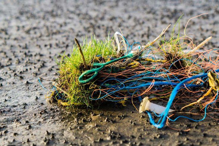 Nordsee Meeresverschmutzung ⚓ Die Nordseeinseln schwimmen im Müll