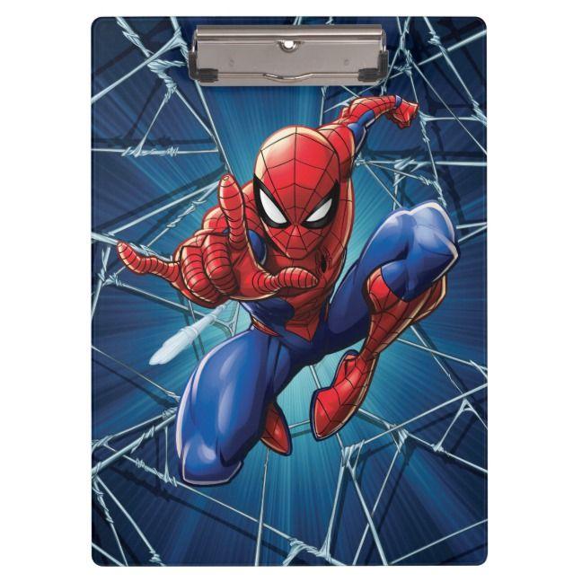 Carpeta De Pinza Hombre Arana Salto En La Web Spiderman Spiderman Characters Spiderman Art