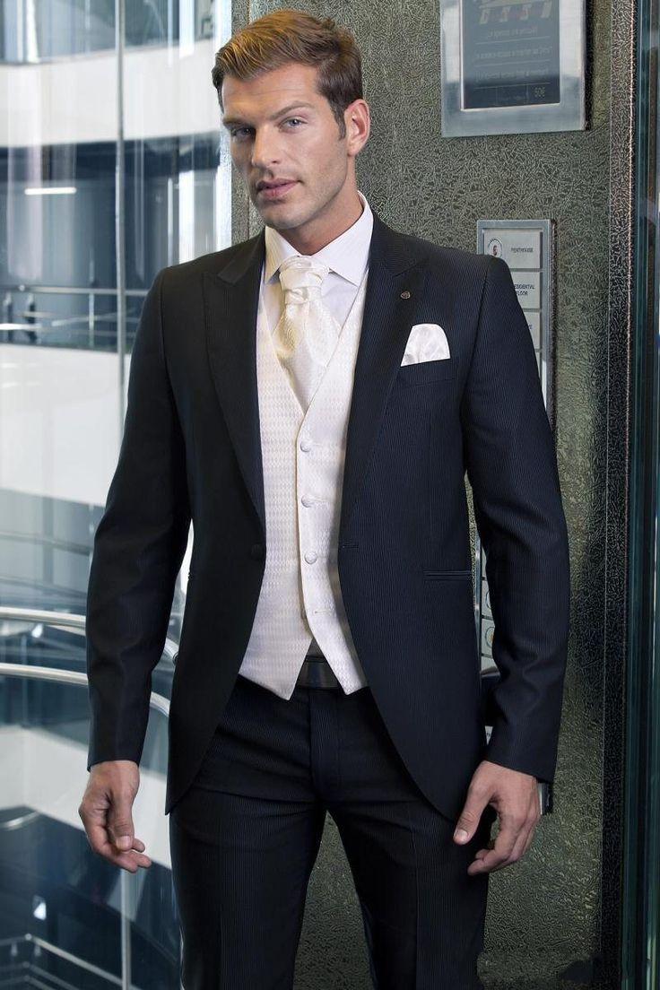 На заказ две кнопки закрытие воротник пиджак дружки костюмы жених смокинги лучший мужчина костюм свадебный костюм ( куртка + брюки + жилет )