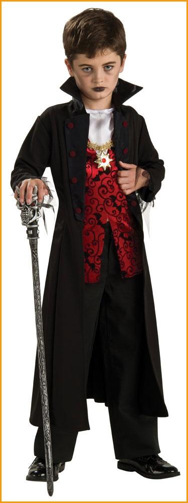 Boy's Vampire Costumes Royal Vamp Costume
