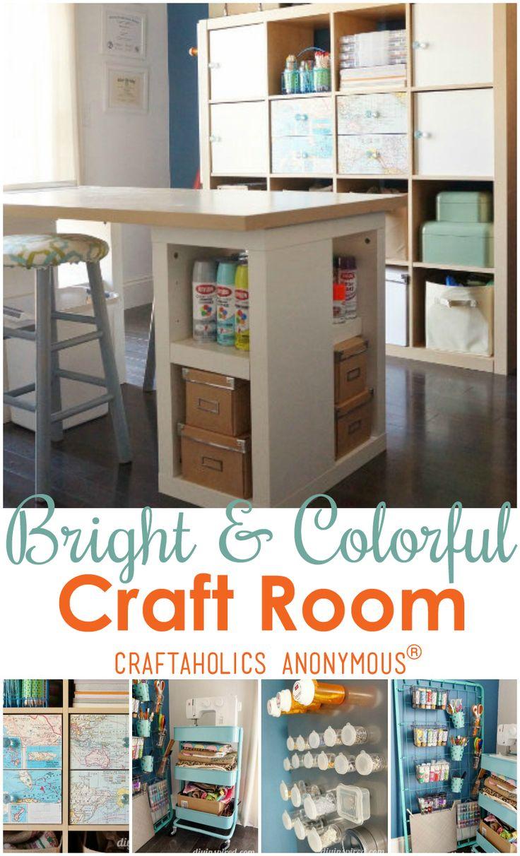 Craft Room Tour: Dinah At DIY Inspired