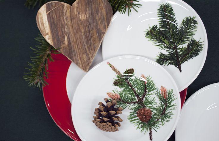 Dibbern Herbaticum Weihnachtsgeschirr.