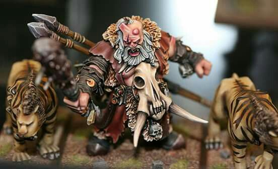 Ogre hunter #whfb #warhammer #gamesworkshop #wellofeternity