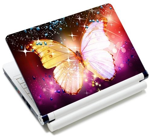 """10 10.2 inch Laptop Skin Sticker / Netbook Skins Cover Art Notebook Decal Fits 8"""" 8.9"""" 10"""" 10.2"""" HP Dell Lenovo Asus Compaq Asus Acer Computers (Free 2 Wrist Pad) by Meffort, Inc., http://www.amazon.com/dp/B0041F4YY8/ref=cm_sw_r_pi_dp_V77jrb0M56MGQ"""