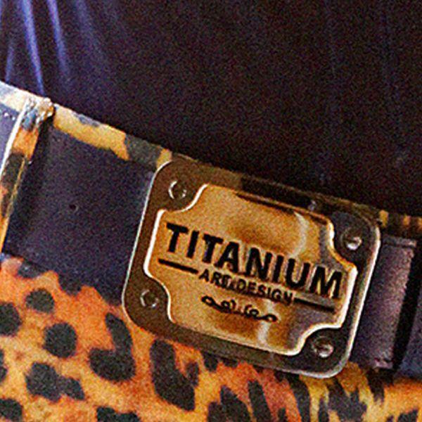 Fivela Titanium Cinto Roxo