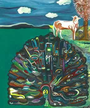 STUCKISM Elsa Dax paintings