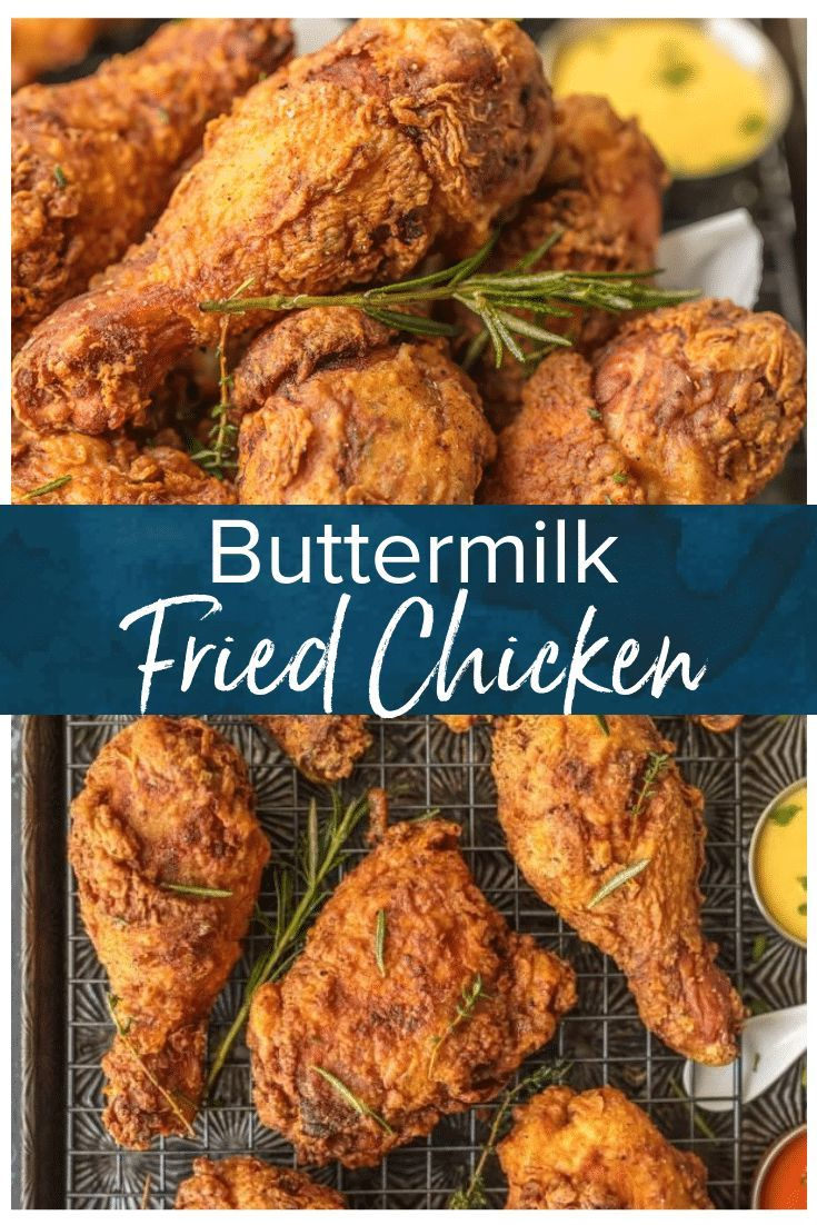 Buttermilk Fried Chicken Is The Best Fried Chicken Recipe You Will Ever Sink Your Teet Buttermilk Fried Chicken Fried Chicken Recipes Best Fried Chicken Recipe