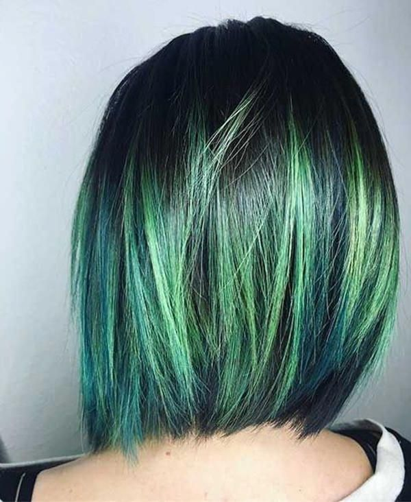 50 Green Hair Dye Ideas That You Will Love - With Hairstyle ...