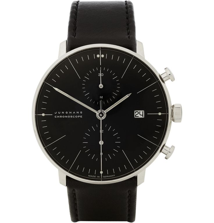 Max Bill by JunghansStainless Steel Automatic Chronograph Watch MR PORTER