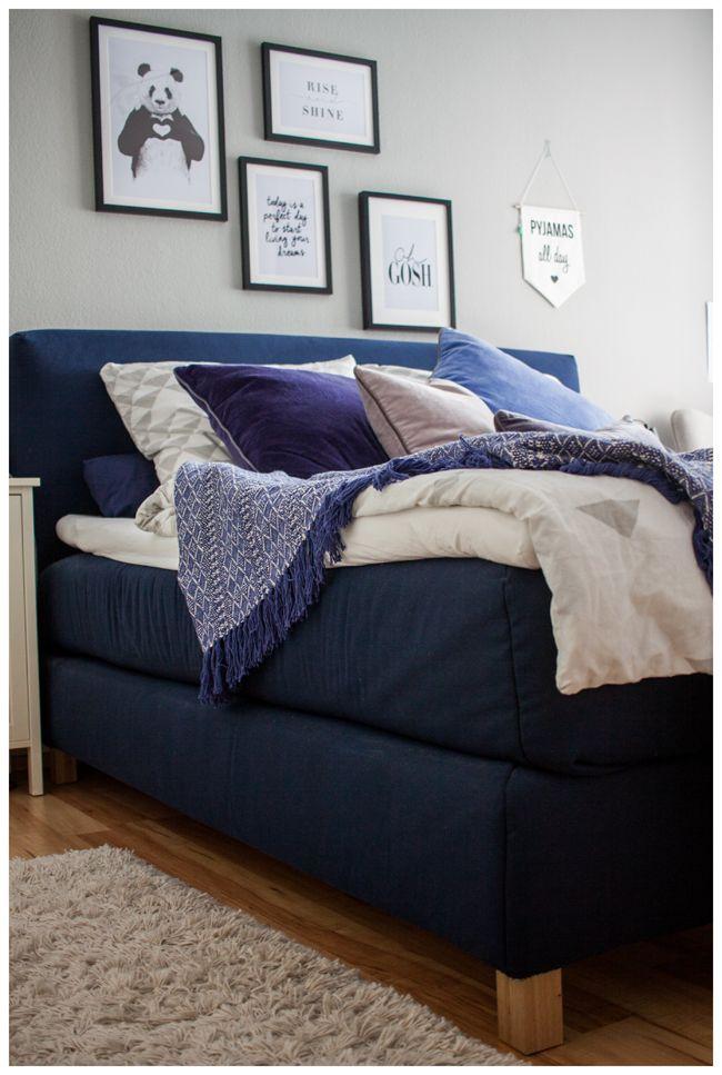 schlafen wie auf wolken mein ikea boxspringbett endless love dream bedroom pinterest. Black Bedroom Furniture Sets. Home Design Ideas