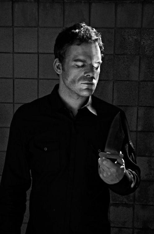 Dexter Morgan (Michael C. Hall).  Incredible Actor!  He is amazing on Dextar.