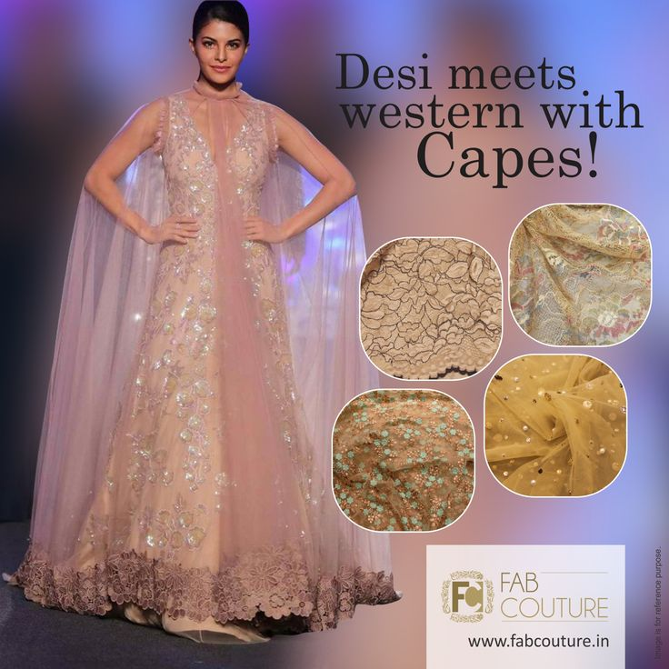 Desi meets western with capes! Look stylish with #FabCouture! #DesignerFabric at #AffordablePrices.  Buy your stock of fabric from: https://fabcouture.in/ #DesignerDresses #Fabric #Fashion #DesignerWear #DesignerDresses #Fabric #Fashion #DesignerWear #ModernWomen#DesiLook #Embroidered #WeddingFashion #EthnicAttire #WesternLook#affordablefashion #GreatDesignsStartwithGreatFabrics#LightnBrightColors #StandApartfromtheCrowd #EmbroideredFabrics