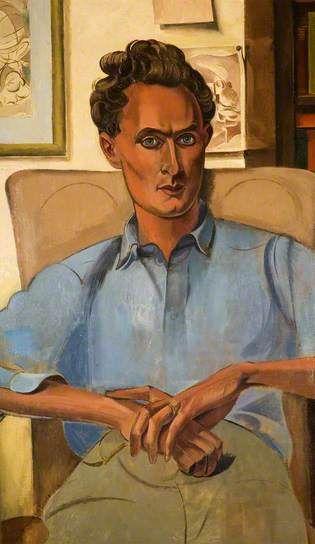 Stephen Spender (1909–1995), 1938 by Wyndham Lewis (1882-1957)