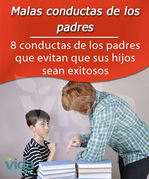 8 conductas de los padres que evitan que sus hijos sean exitosos