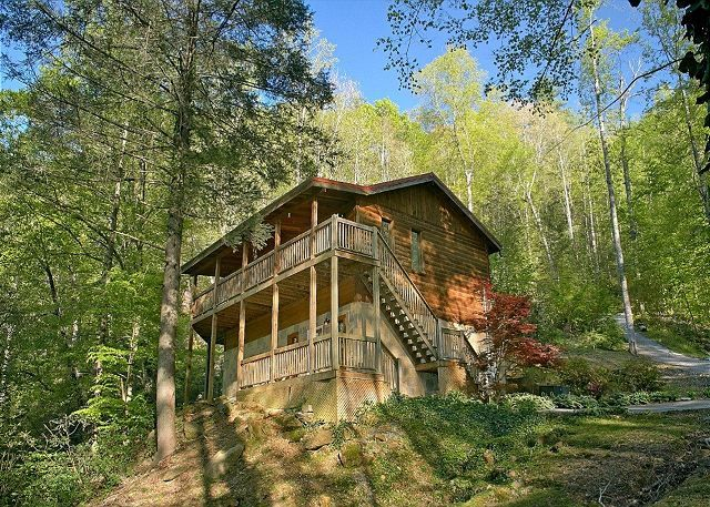 a mountain smokey tn friendly pet cabins mountains romantic smoky jacuzzi the heart shaped mt in cabin