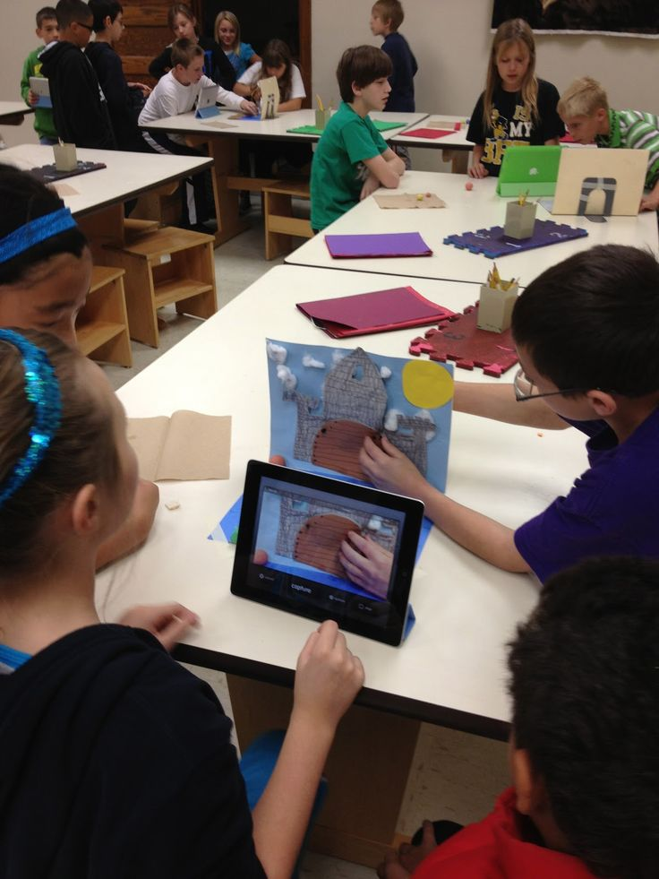 Splats, Scraps and Glue Blobs: Claymation with 5th Grade Students Using iMotion HD app