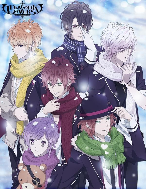 Diabolik Lovers They look really hot in winter scarfs