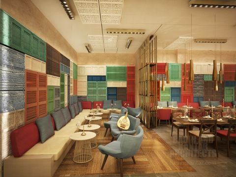 Middle east middle and architects on pinterest for Office design hamra