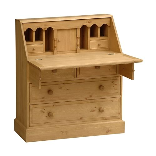 dorchester pine large writing bureau writing bureau bureaus and pine. Black Bedroom Furniture Sets. Home Design Ideas