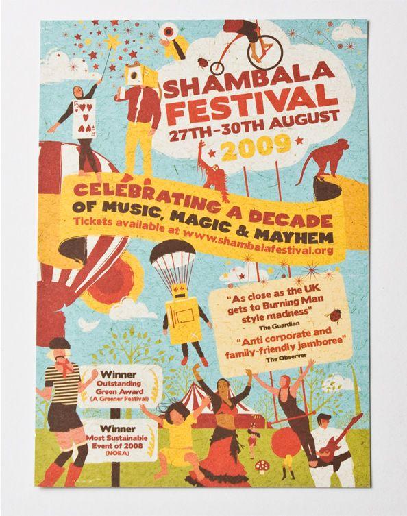 Shambala Festival Poster