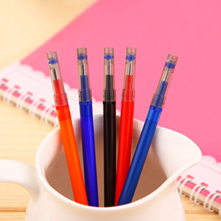 FLYKIT 0.4mm Writing Point Erasable Pen Refills for Gel Pen Ballpoint Pen Refill Office School Writing Supply