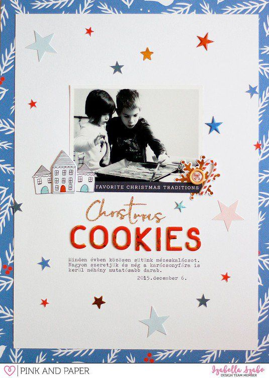 Christmas cookies by izzie at Studio Calico