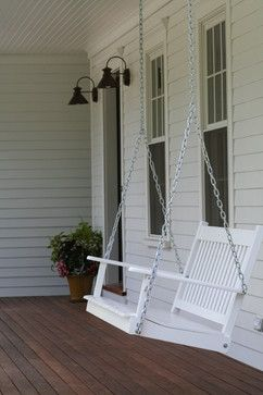 Summer on the Front Porch ~ Traditional Porch by Norwell General Contractors JB Robbie Builders Inc. - Town & Country Living