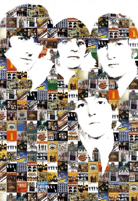 Montage of all the covers they appeared on--way cool!