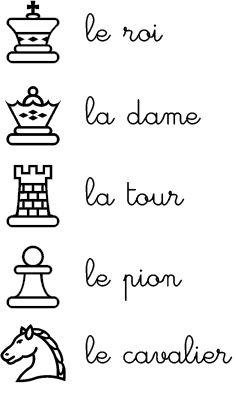 Les échecs à l'école maternelle, c'est possible! - Activités pour la Grande Section Maternelle