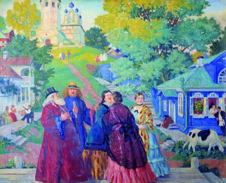 Масленица - Борис Кустодиев - WikiPaintings.org